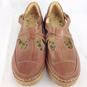 🌺 Naturalizer Comfort Brown Leather 9M Mary Jane
